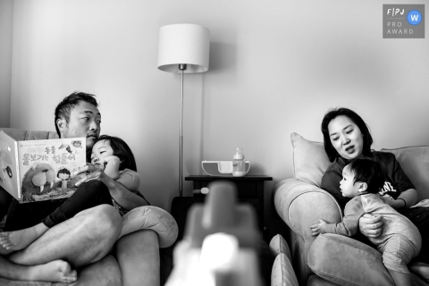 Annie Bang is a family photographer from California