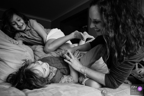 Adeline Leonti is a family photographer from Quebec