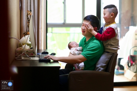 Eric Liao est un photographe de famille de