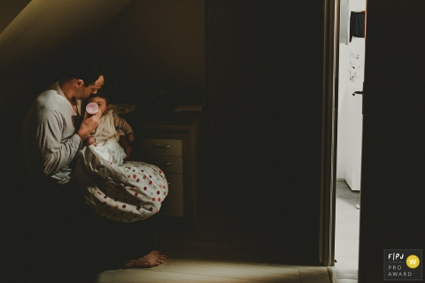 Sylvain Garderes is a family photographer from