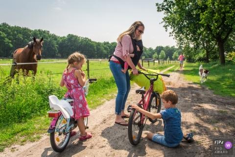 Kim Rooijackers est un photographe de famille de Noord Brabant