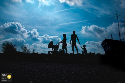 Noord Brabant Family going for a walk. Netherlands photography sessions with the whole family outside.