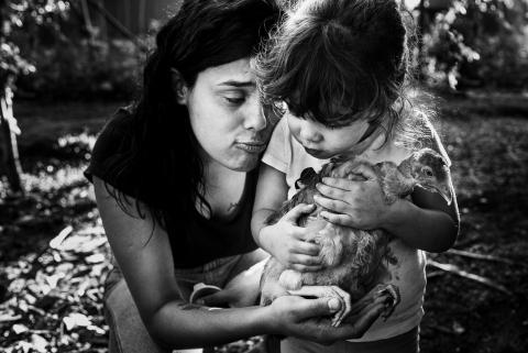 Karoline Saadi is a family photographer from São Paulo