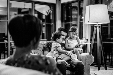 Florent Cattelain is a family photographer from