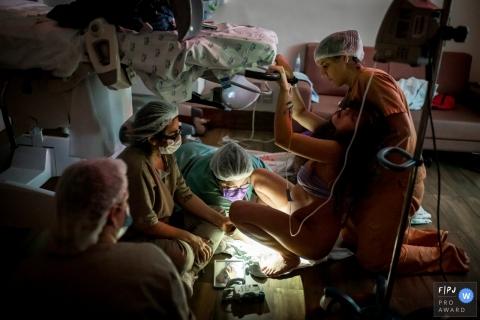SP birth image session at Maternidade São Luis Itaim Bibi