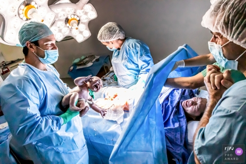 SP birth image shoot at the Unidade Morumbi - Hospital Israelita Albert Einstein