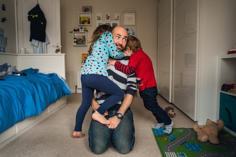 Documentary family photography by Andy Hudson Photography