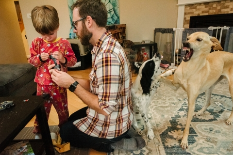 Viara Mileva is a family photographer from Ontario