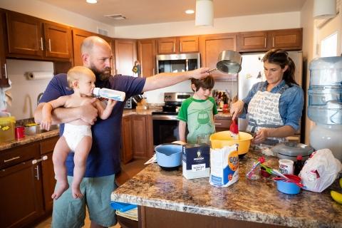 Jill McNamara is a family photographer from Arizona