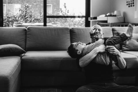 Christophe De Mulder is a family photographer from Antwerpen