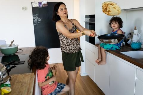 Polina Subbotina is a family photographer from Hamburg