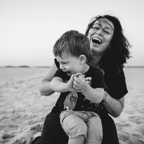 Portrait de la photographe de famille Kent, Linda Mauch - Angleterre et Royaume-Uni FPJA