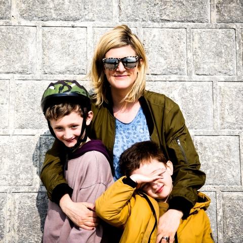 Photographie de famille du West Sussex par Sophie Mitchell, d'Angleterre, Royaume-Uni