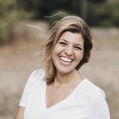 Lifestyle portrait of family photographer Ana Backhaus