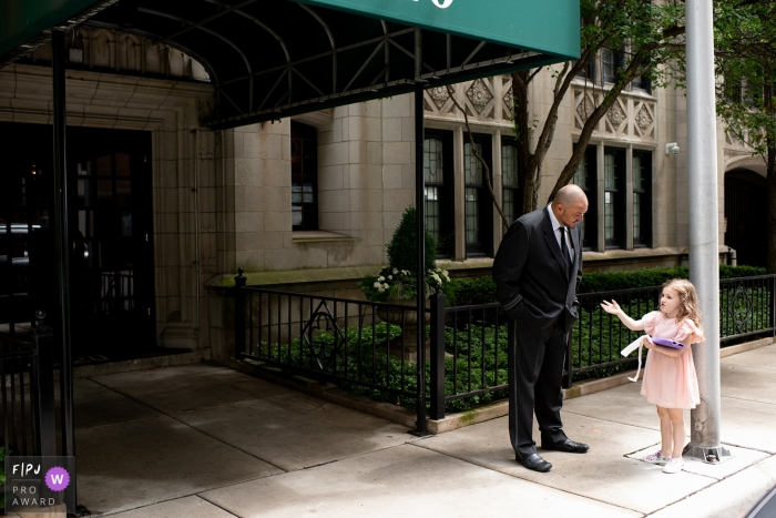 A Chicago girl is friends with the doorman