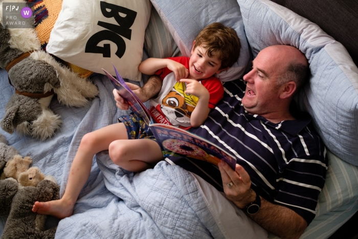 Germany Documentary Family Image of Bedtime reading