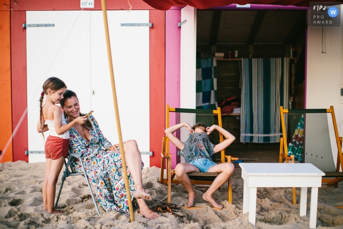 Beach-days in The Netherlands for this Drenthe Family Photo Shoot